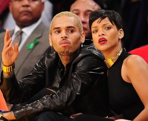 Rihanna-Chris-Brown-Lakers