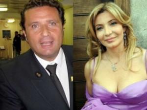Francesco Schettino e Vittoriana Abate