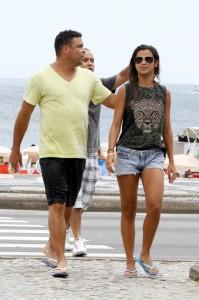 Ronaldo e Paula Morais