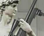 David di Michelangelo pronto alla guerra
