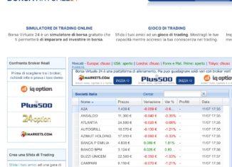 Borsa Virtuale che cos'è e come funziona